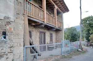 Vista Lateral Izquierda Casa Candanal