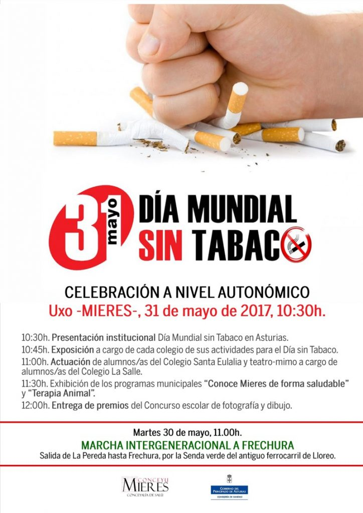 dia sin tabaco Mieres 2017