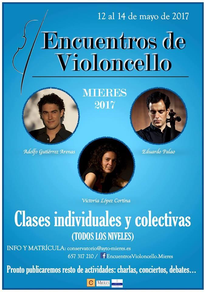 encuentros violoncelllo Mieres 2017