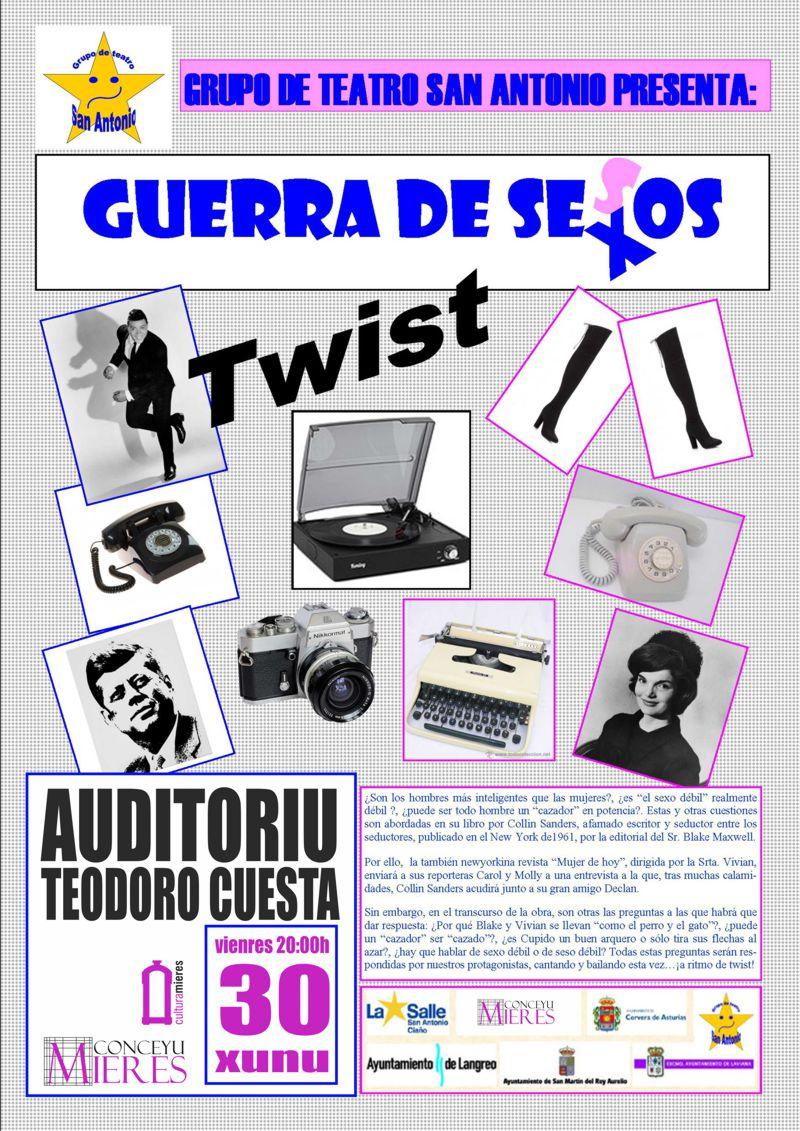 Cartel web-Teatro-Guerra de sexos