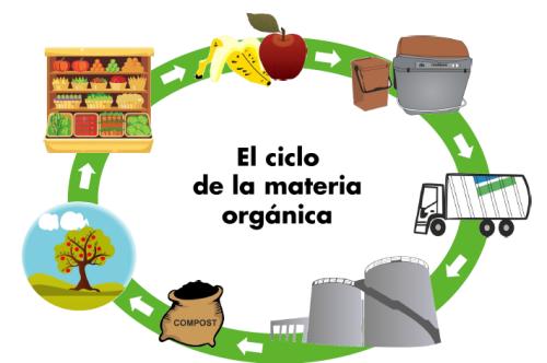 Ciclo materia orgánica