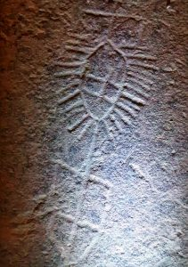 Detalle Petroglifo de Cenera
