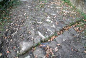Empedrado Camino Real de Urbiés
