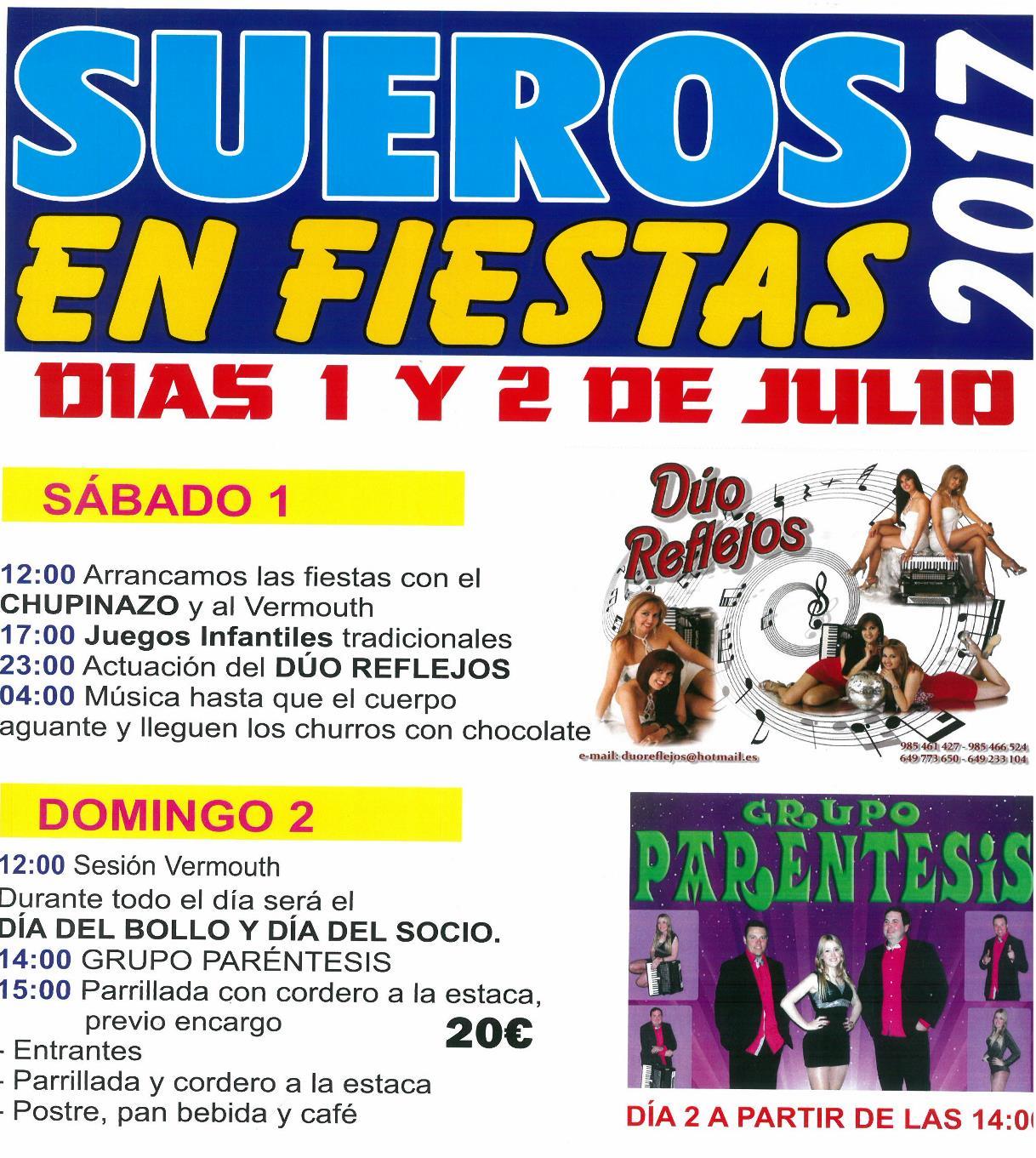 Fiestas Sueros 2017
