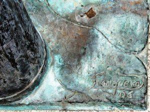 Firma Llonguera Escultura Pepa la Lechera
