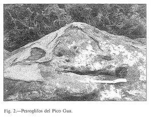 Grabados del Picu Gúa