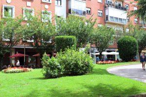 Jardines del Ayuntamiento parte este.