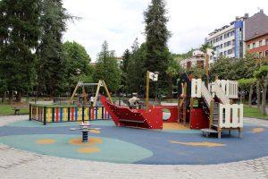 Parque Xovellanos- Barco  cara sur
