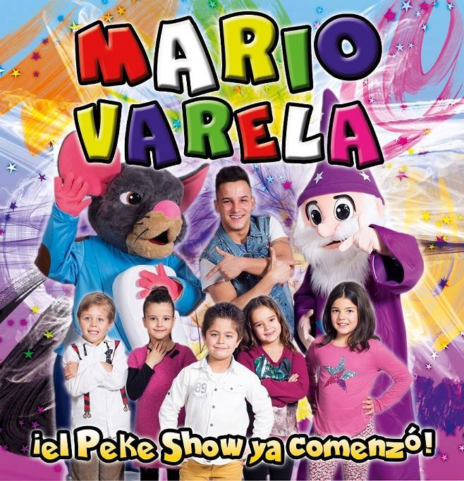 Peque Show Mario Varela San Xuan 2017 Mieres