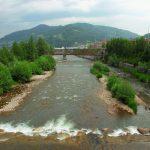 Río Caudal en Mieres (Fot.Cheluis - AF Semeya)