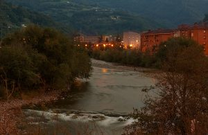 Río Caudal por Uxo (Fot.: Ana Belén Rodríguez - AF Semeya).