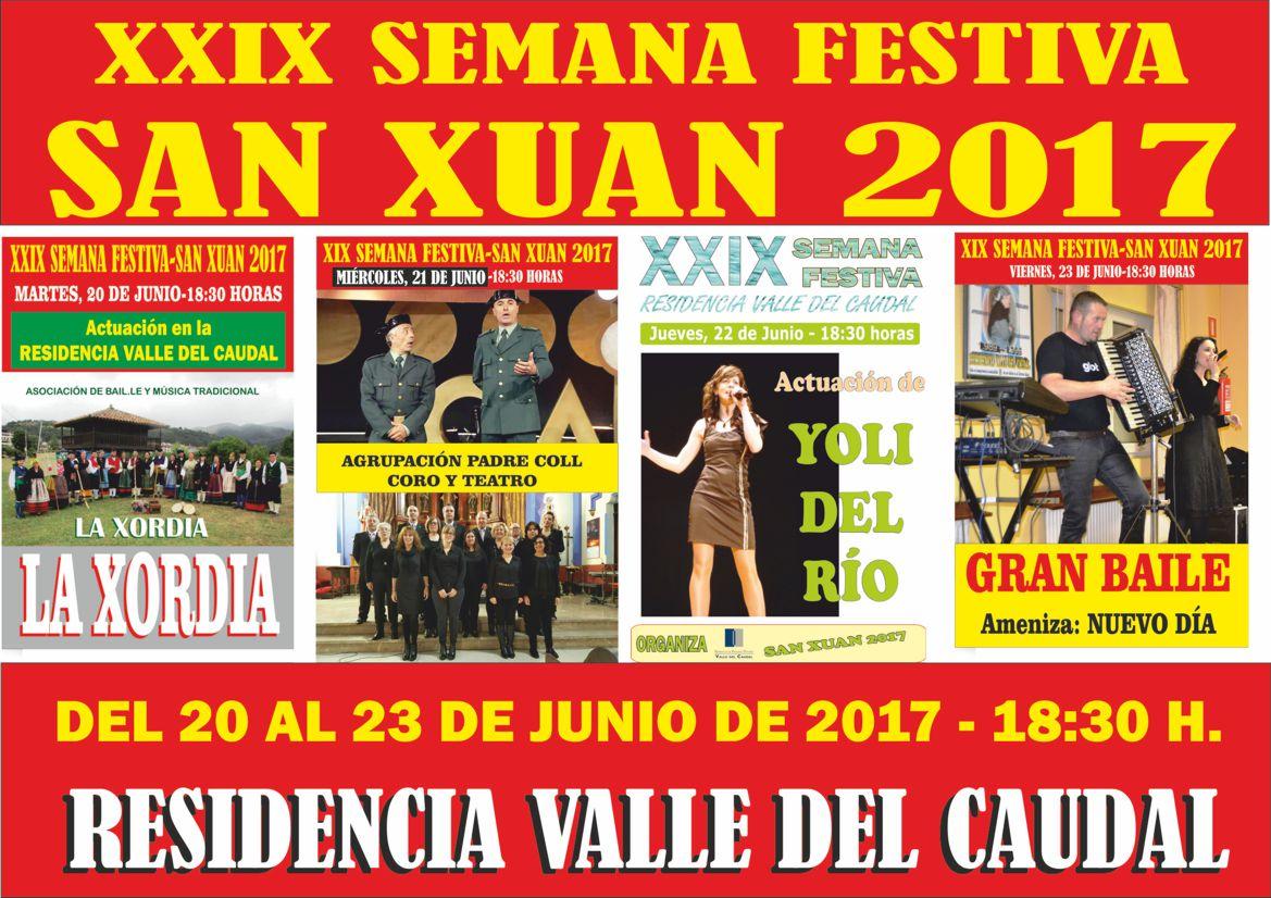 Residencia Valle del Caudal Semana Festiva 2017