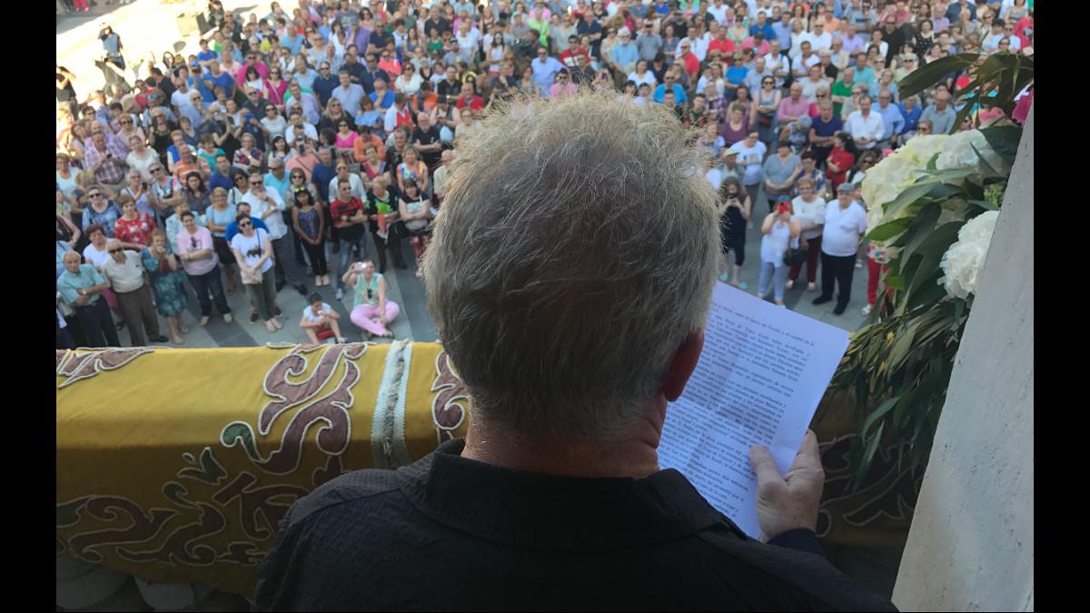 San Xuan 2017 - 17 - Pregón de les Fiestes, Víctor Manuel