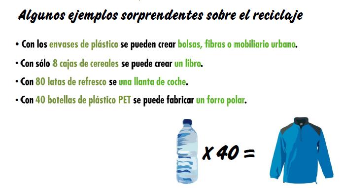 Tratamiento. Ejemplos reciclaje