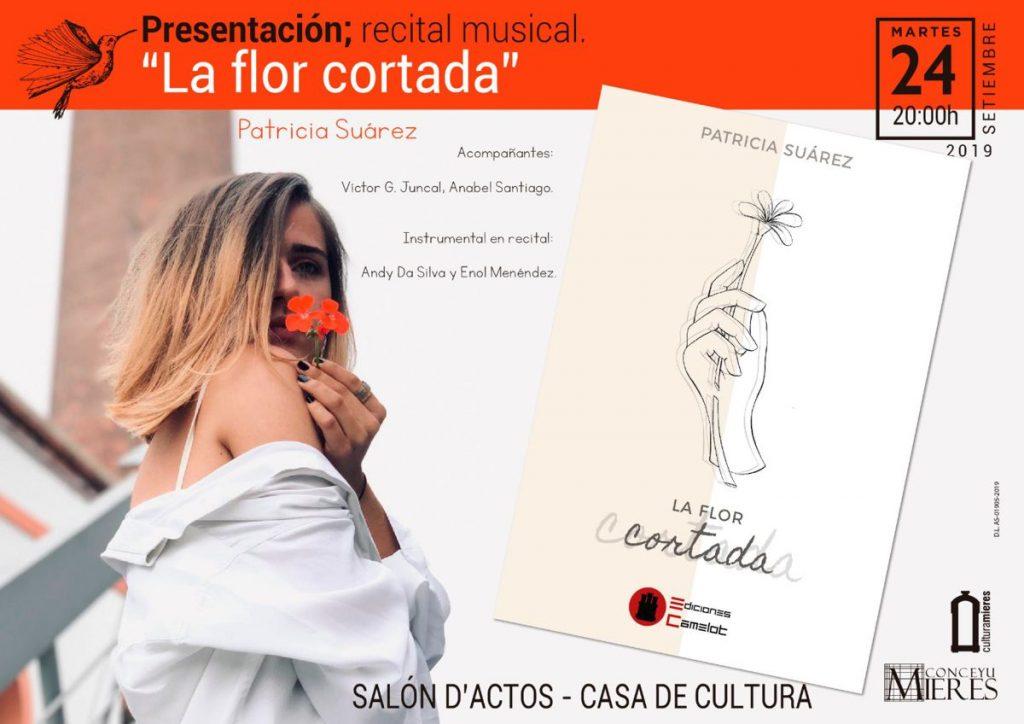 Cartel Web La Flor Cortada Patricia