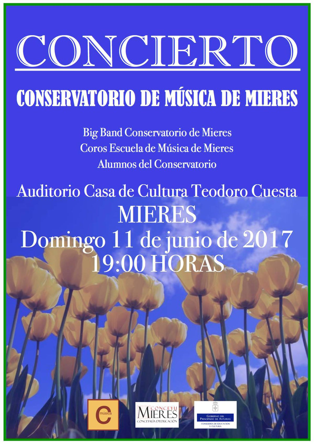 concierto fin de curso conservatorio musica mieres 2017