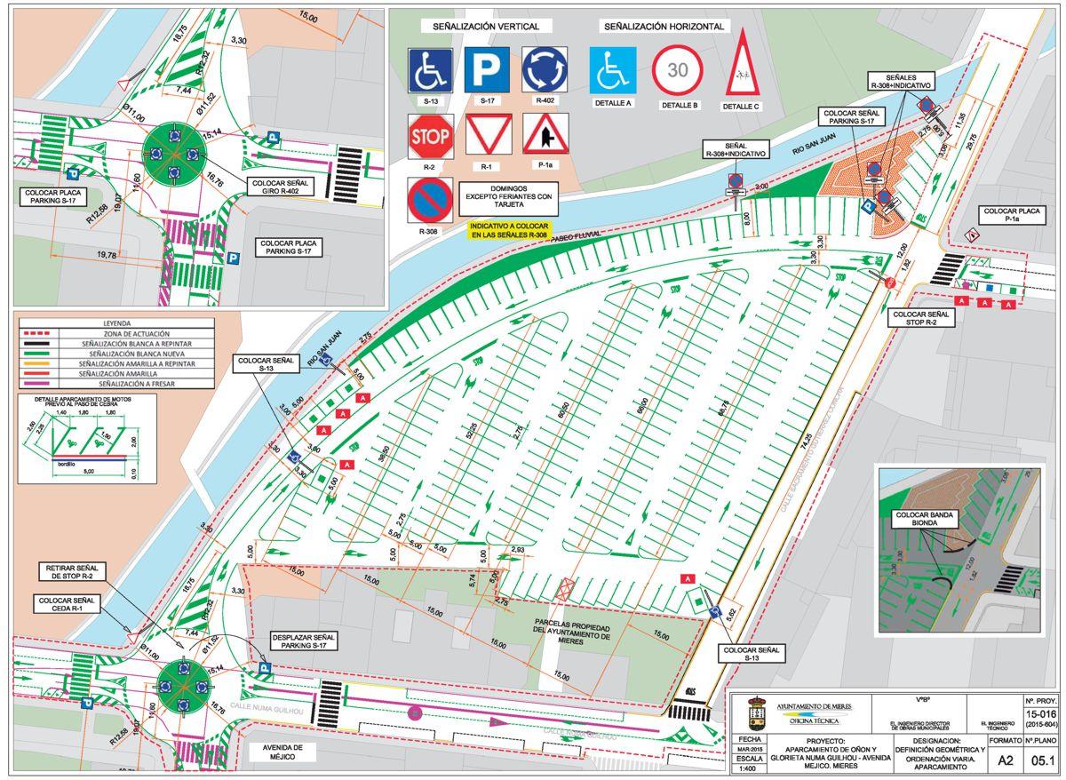 plano web aparcamiento de oñón