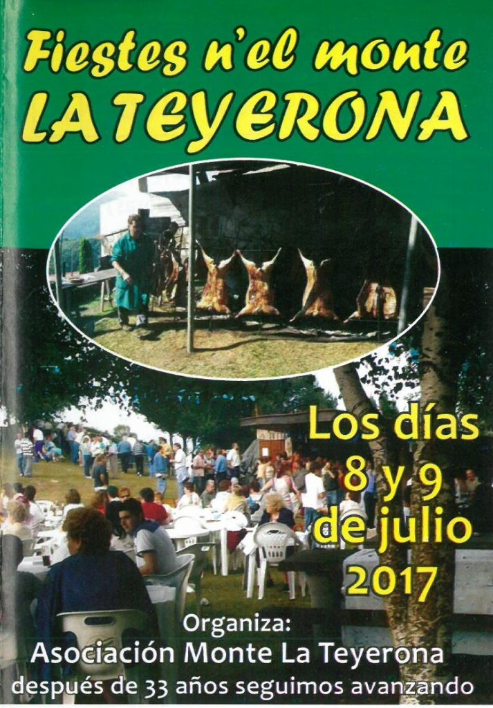 Cartel fiestas la Teyerona 2017