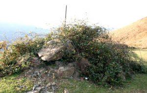 Detalle Túmulos de Los Monteros