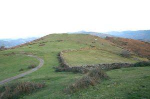Localización Túmulo de Peña Raigá