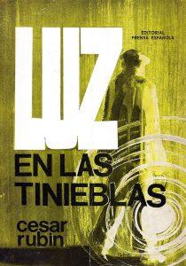 Portada Luz en las tinieblas de César Rubín