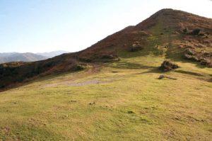 Vista general Túmulos de Los Monteros