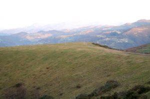 Vista general Túmulos del Picu Llosorio