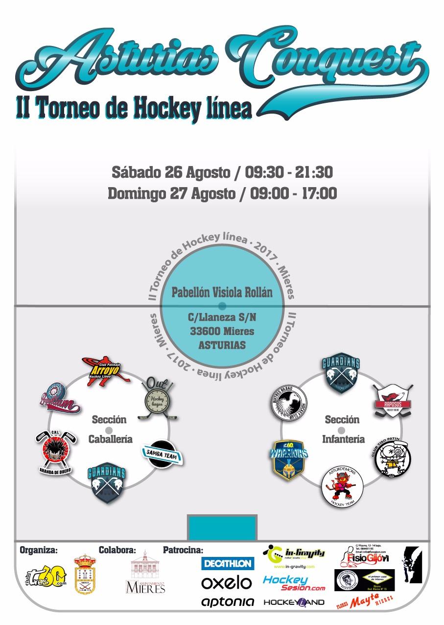 Asturias Conquest II torneo hockey linea