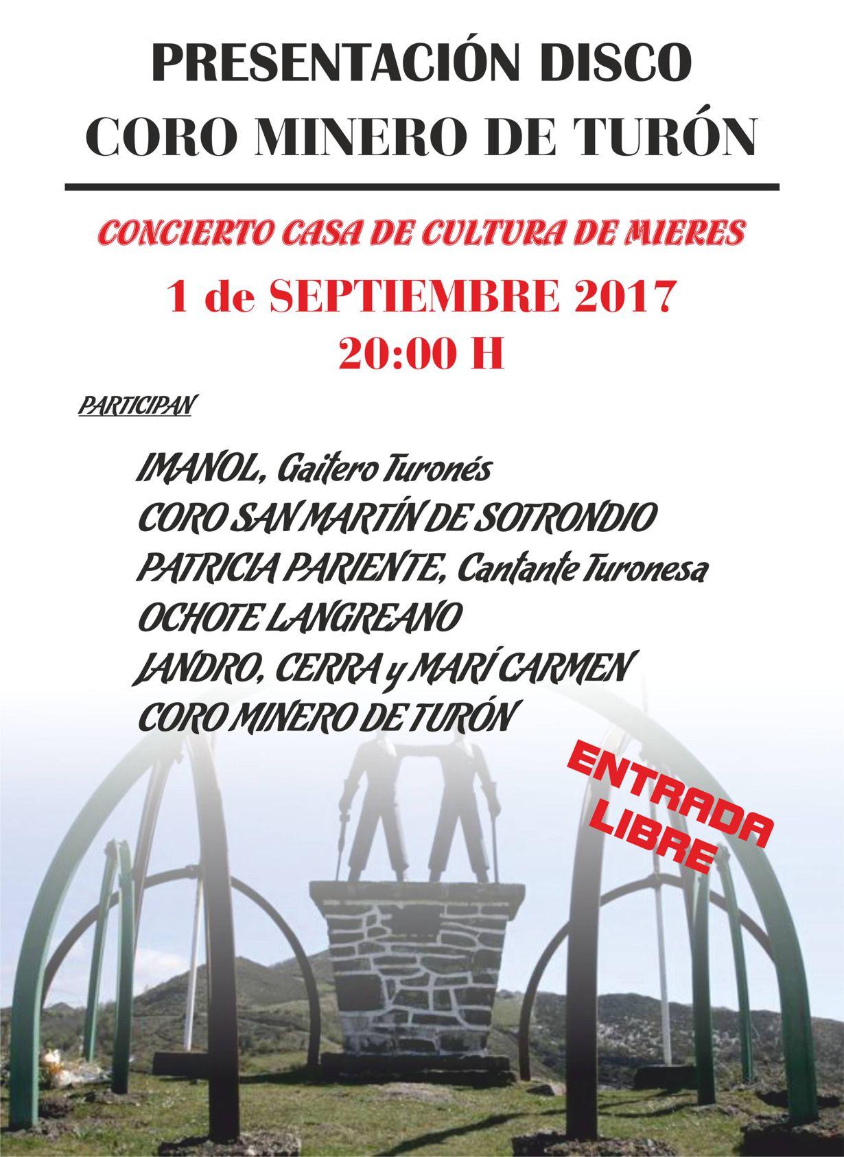 CARTEL CORO MINERO presentacion DISCO