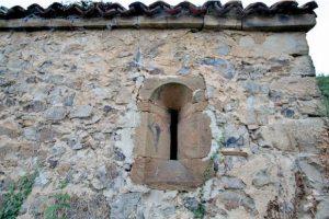 Detalle de la capilla de Santolaya, Urbiés