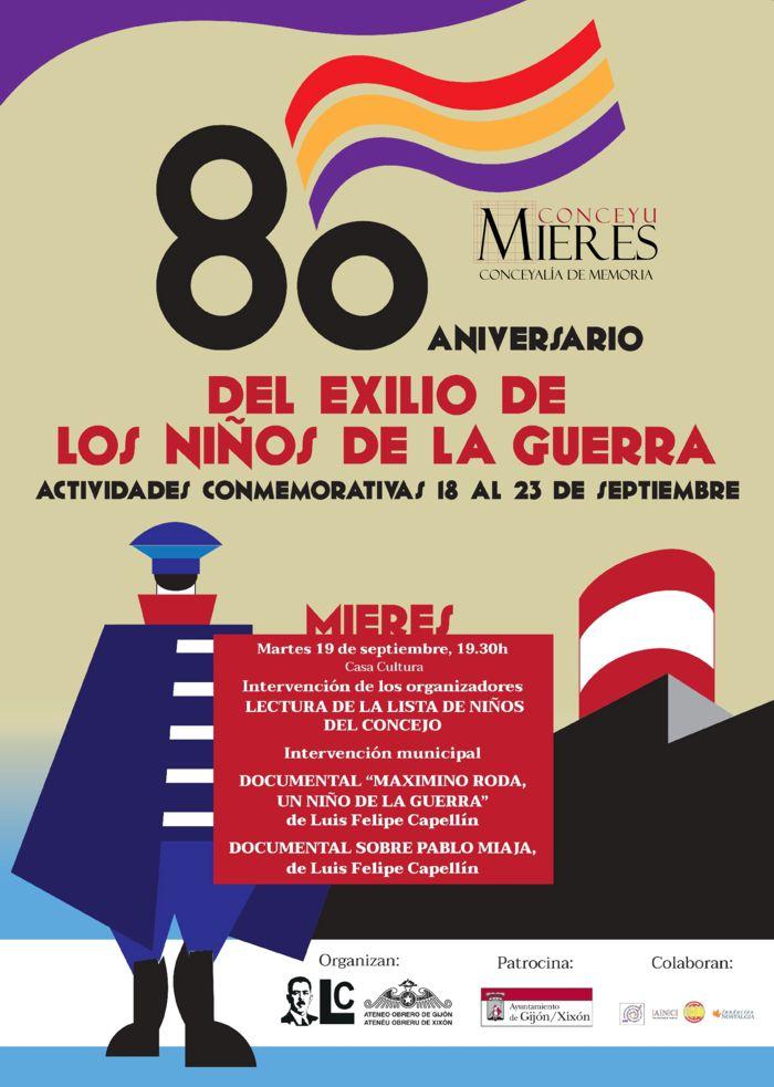 CARTEL web 80 ANIVERSARIO EXILIO NIÑOS GUERRA