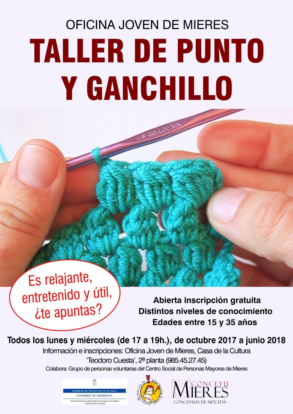 CARTEL web Punto y ganchillo 2017