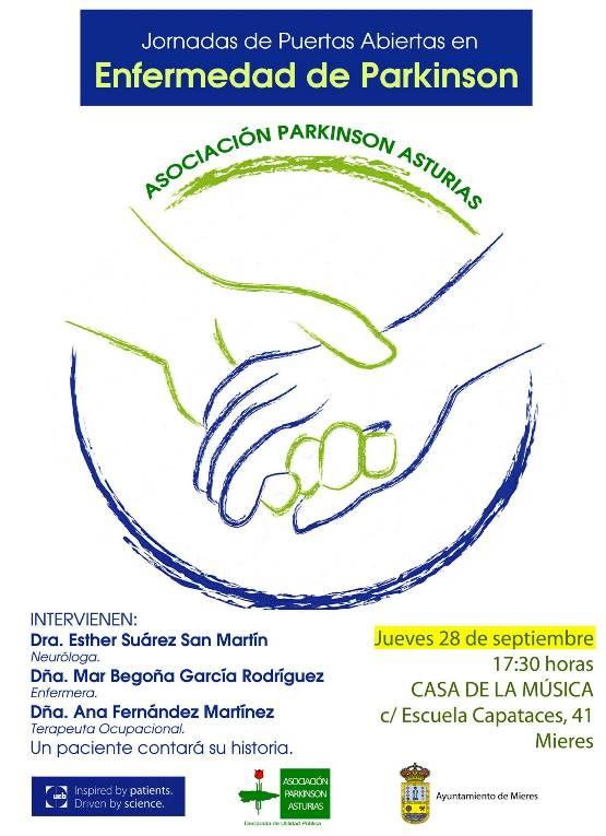 Cartel web jornada Parkinson 2017 mieres
