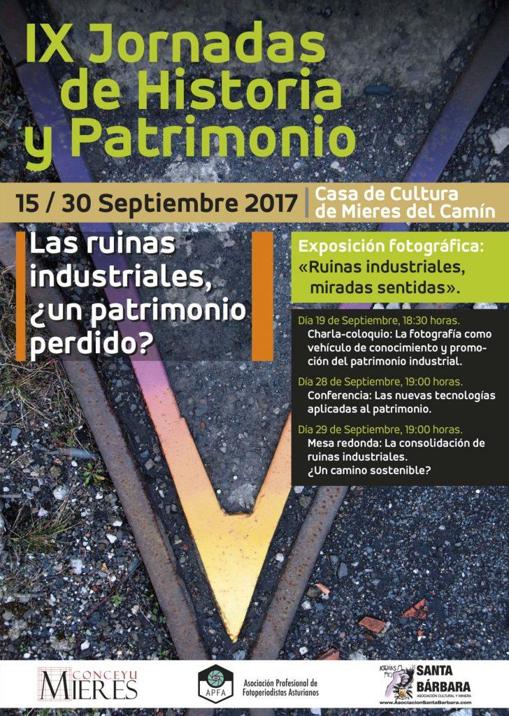 IX Jornadas Historia y Patrimonio cartel web