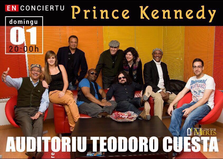 Prince Kennedy Iyoha en concierto mieres