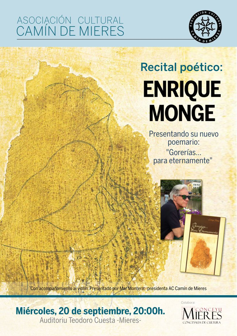 cartel web recital Enrique Monge