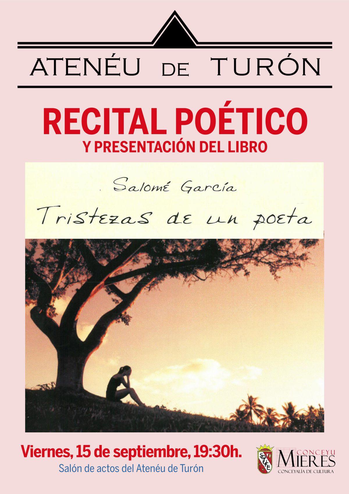 cartel web recital poético salome garcia