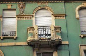 Detalle de los ventanales