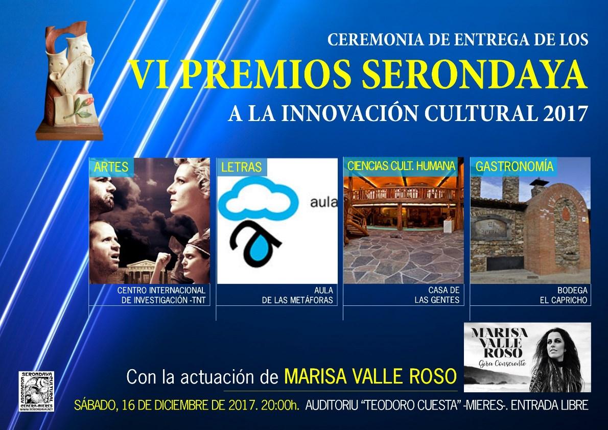 Cartel Premios  Serondaya 2017