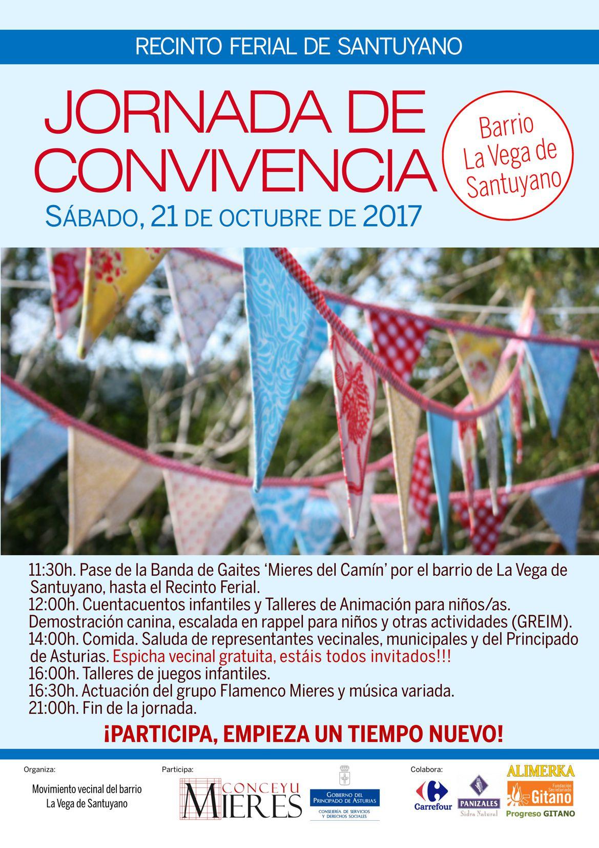 Cartel web Jornada Convivencia Santuyano 2017