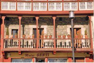 Vista detalles balcones