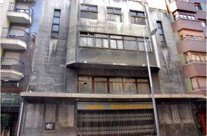 Cine Esperanza, entrada principal