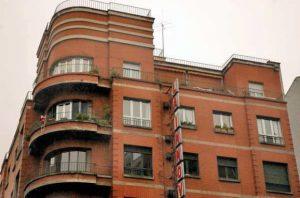 Edificio La Innovación, detalles de los ventanales