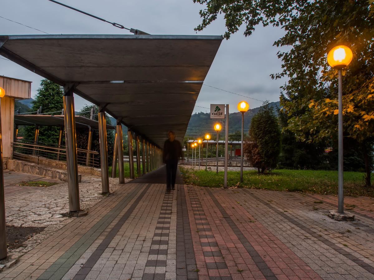 Estación de Renfe, Ablaña (Fot. Carlos Salvo - AF Semeya)
