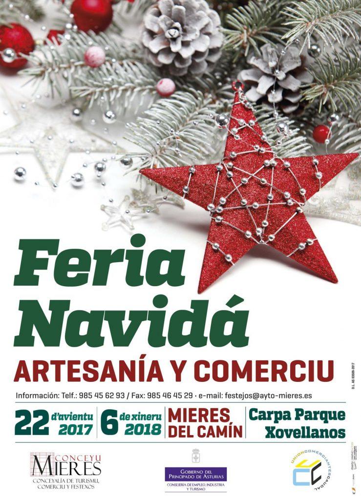 Feria Navidad Mieres cartel 2017