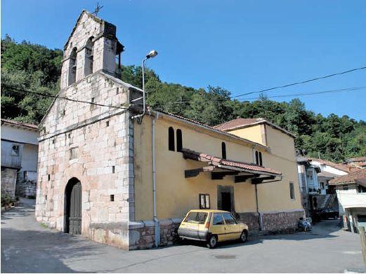 Iglesia parroquial de san Bartolomé de Baiña