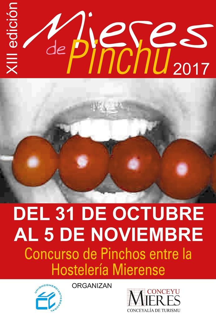 MIERES PINCHU 2017 CARTEL