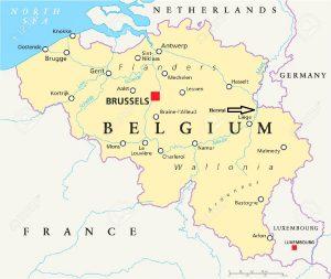 Mapa politico de Belgica, Herstal