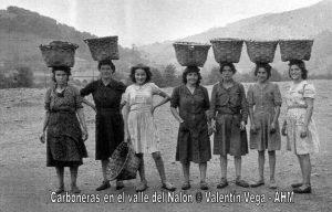 Mujeres mineras - Carboneras valle Nalón