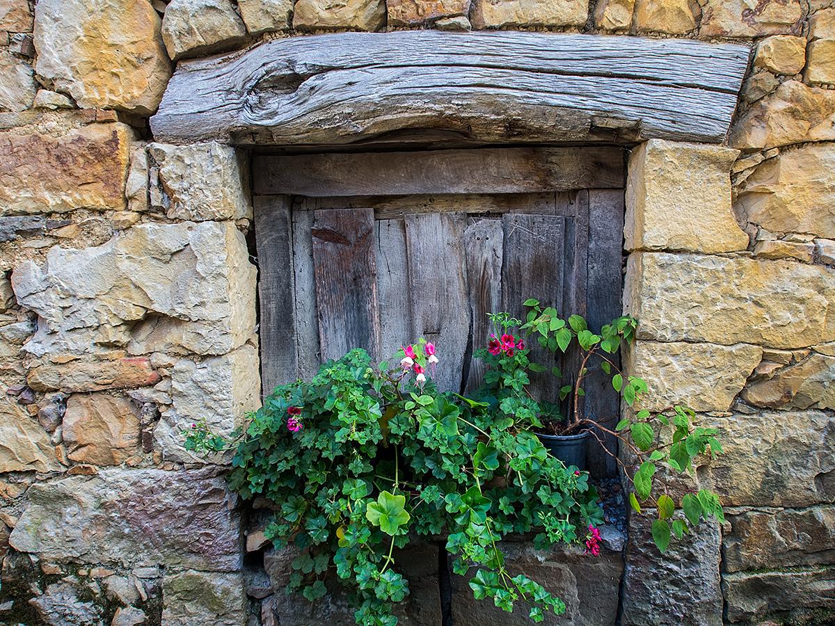 Ventana con flores, Miruxeo (Carlos Salvo - AF Semeya)